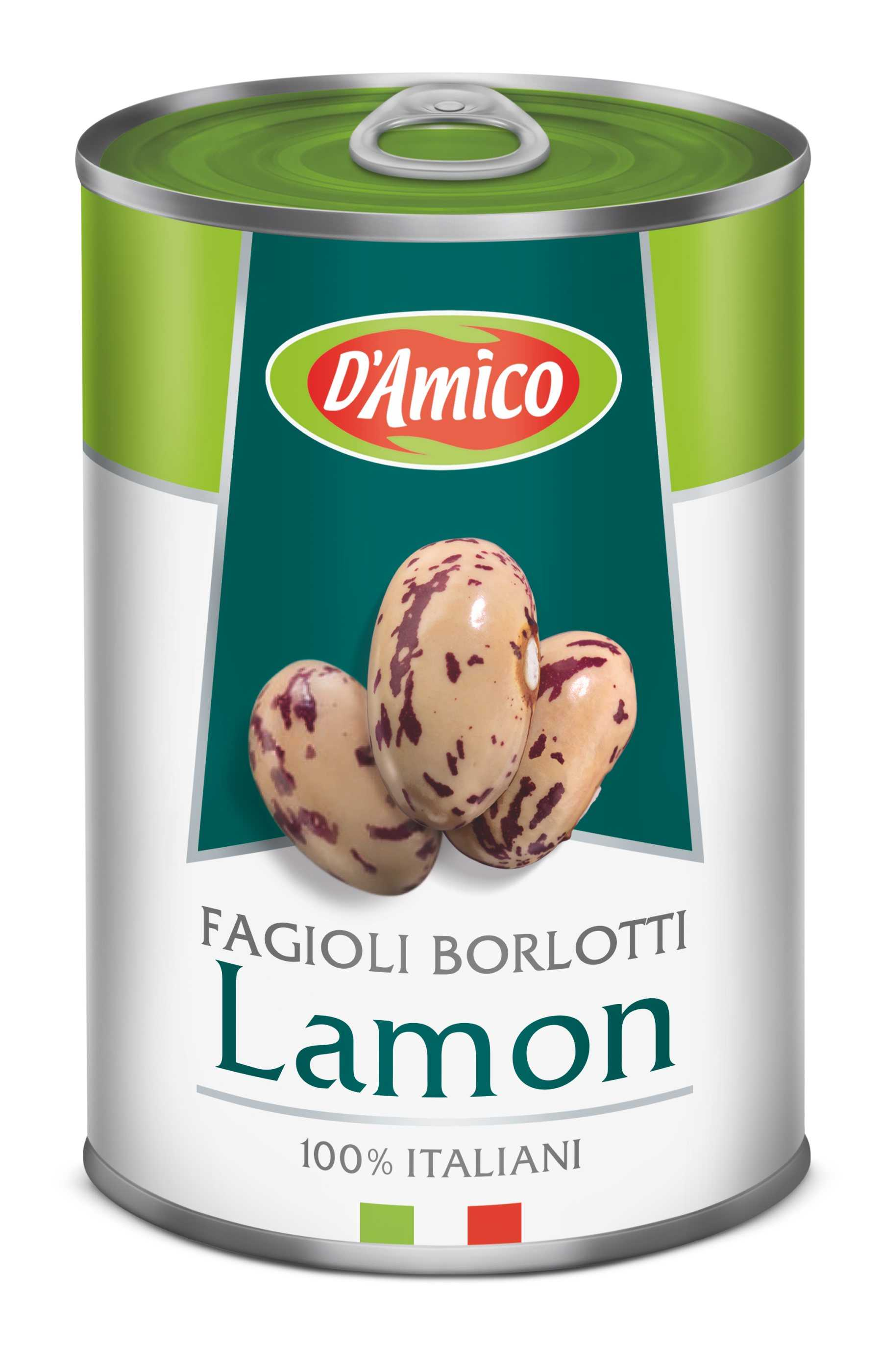 Fagioli Borlotti Lamon