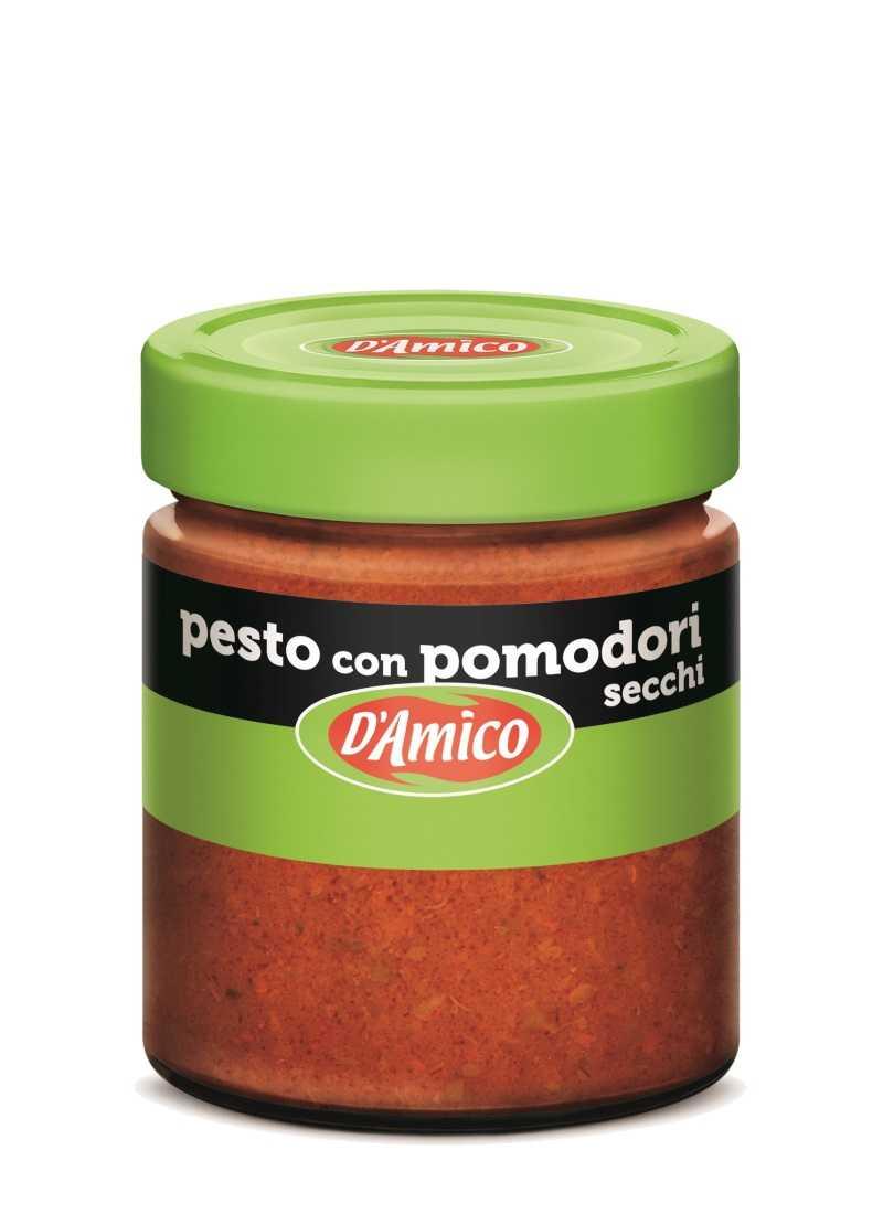 Pesto con pomodori secchi