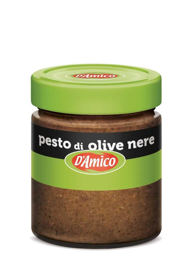 Pesto di olive nere