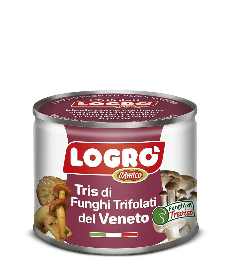 Tris di Funghi del Veneto