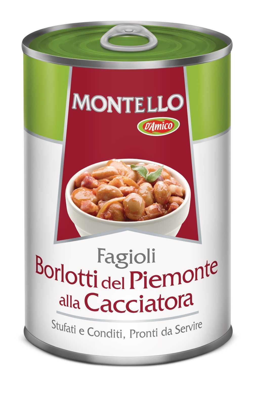 Fagioli Borlotti del Piemonte alla cacciatora