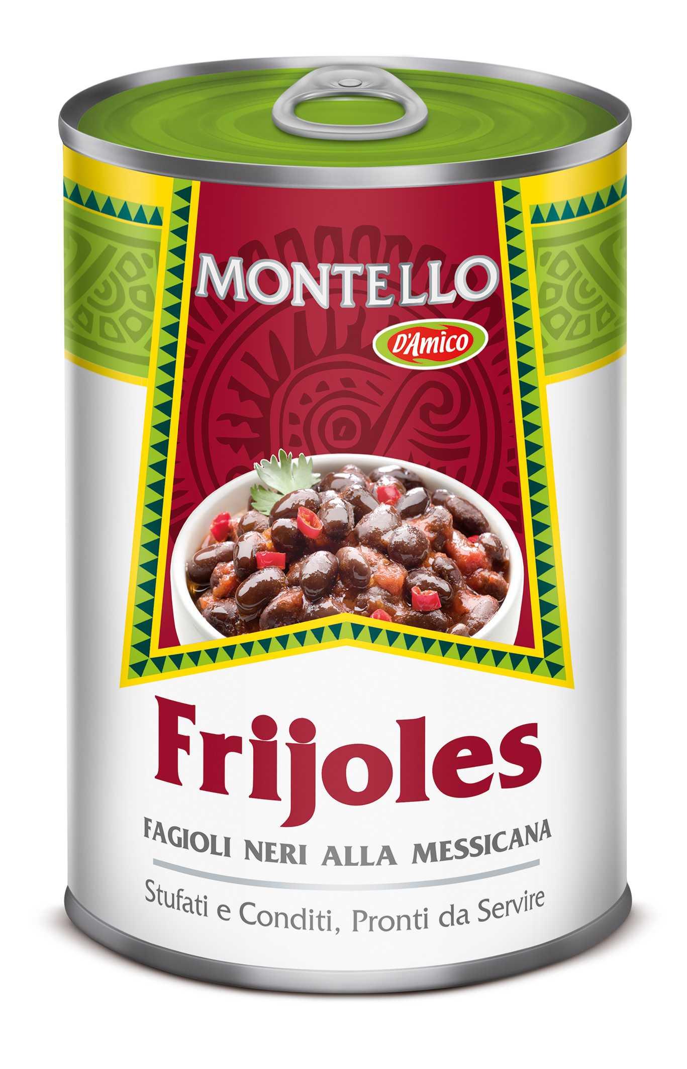 Frijoles fagioli neri alla messicana