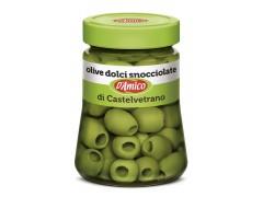 Olive verdi dolci snocciolate di Castelvetrano