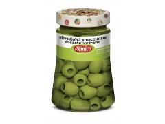 Olive verdi dolci snocciolate di Castelvetrano - Vasi D'Autore