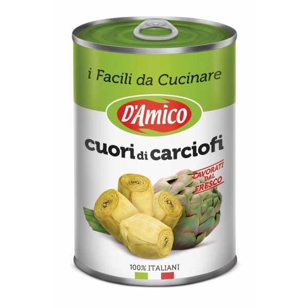 """Cuori di carciofi interi """"5/7"""""""