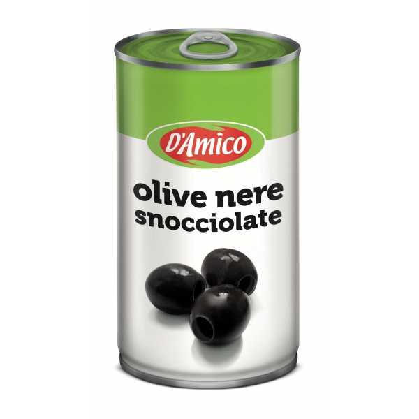 Olive nere snocciolate