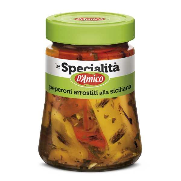 Peperoni arrostiti alla siciliana