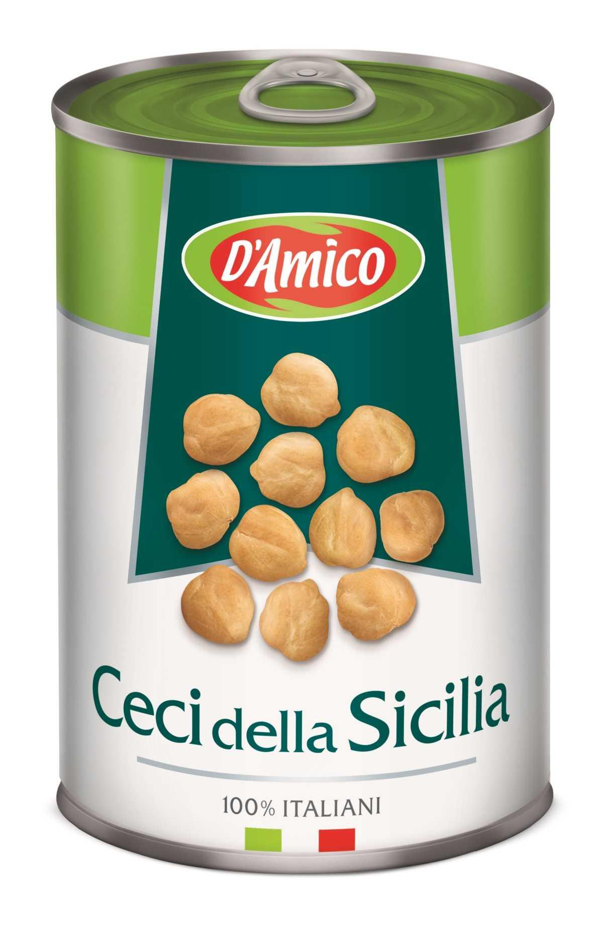 Sicilian Boiled Chick Peas