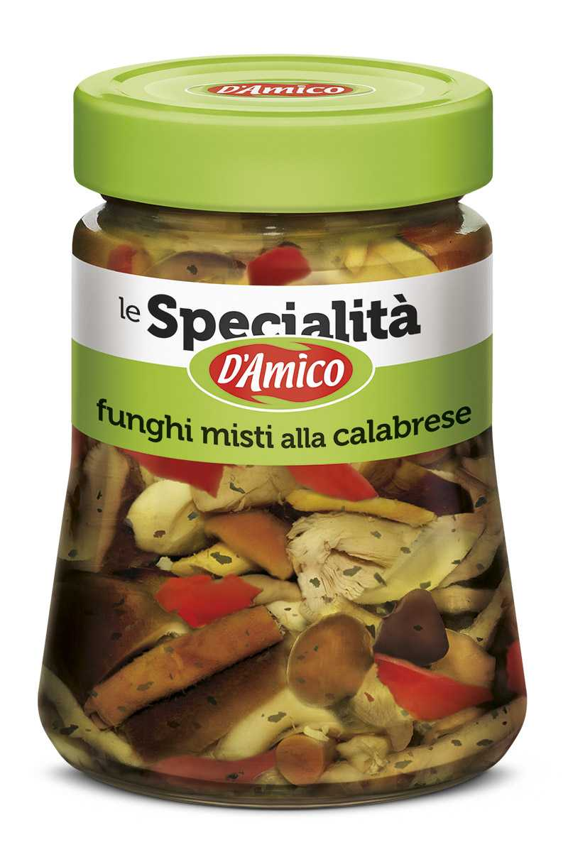 Mixed Mushrooms Calabrian Style