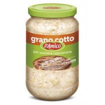 "Cooked Wheat Grains for ""Pastiera Napoletana"" Pie"