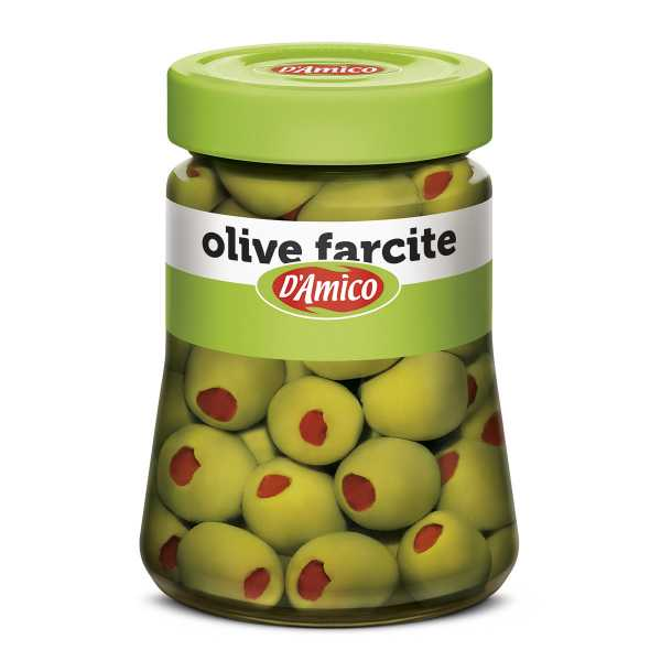 Peppers-stuffed Olives