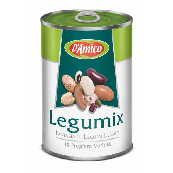 Legumix, fantasy of 10 varieties boiled mixed beans