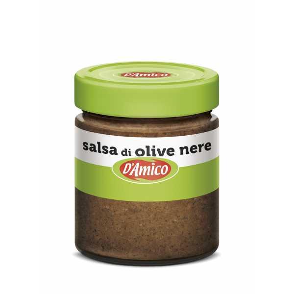 Black Olives Creamy Sauce