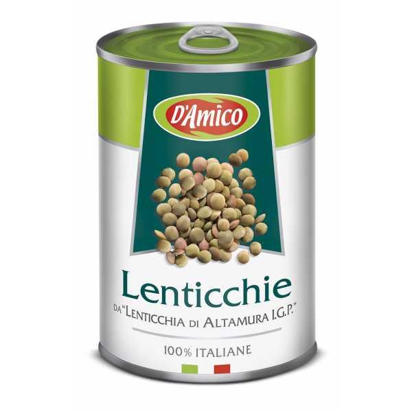 """Boiled Lentils from """"Lenticchia di Altamura P.G.I."""""""