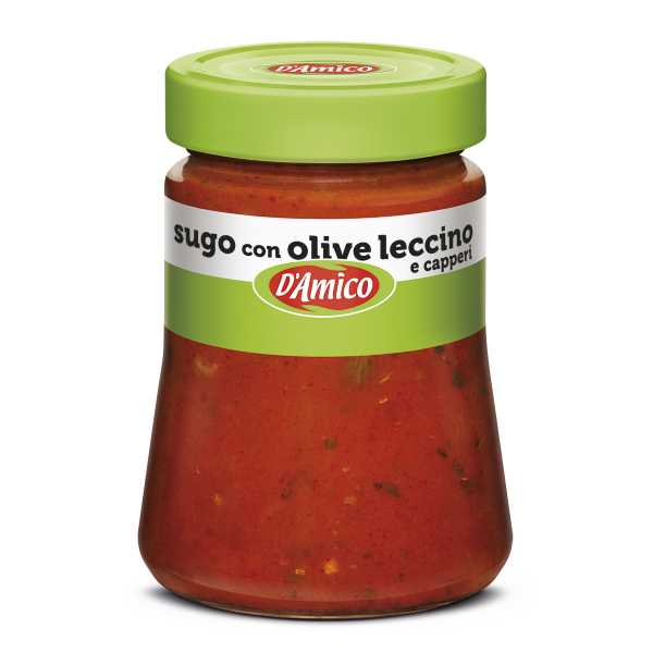 Leccino Olives and Capers Pasta Sauce