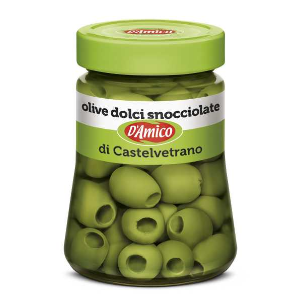 Castelvetrano Pitted Sweet Green Olives