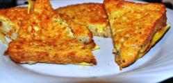 Mozzarella in carrozza con alici